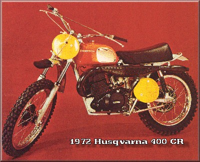 72 MJ 400 CR Husqvarna